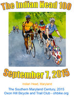 Indian Head 100 - September 7, 2015                      Click for more information and to register
