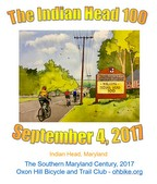 Indian Head 100 - September 4, 2017                      Click for more information and to register